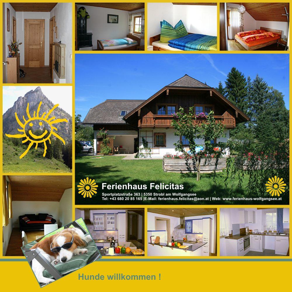 Das Ferienhaus Felicitas in Strobl am Wolfgangsee bietet 2 Top Ferienwohnungen für den perfekten Golf Urlaub am Wolfgangsee.